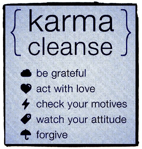 Im writing an essay about karma would talking about someone lead to karma?