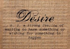 desire defn