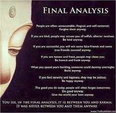 You and karma