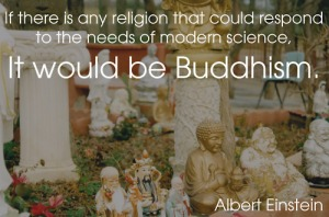 Einstein and Buddhism
