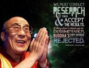 reject buddha Dalai Lama