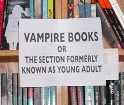 Vampires YA poster