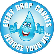 drop of water conserving