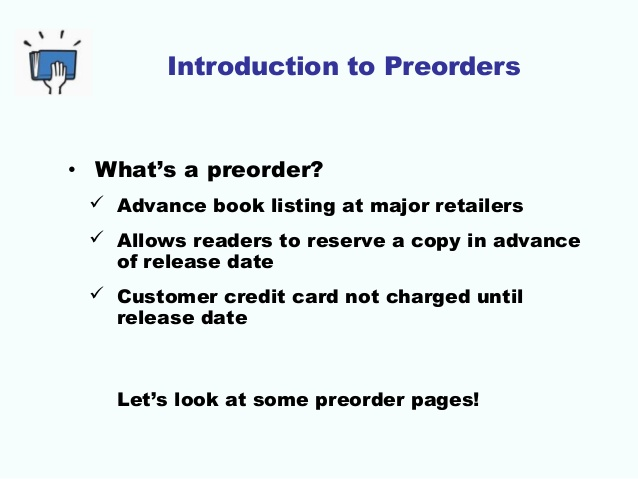Why My First Experience with Using #Pre-Orders Will Help Get My NEXT #Ebook Higher on #Best-Seller Lists  (1/6)
