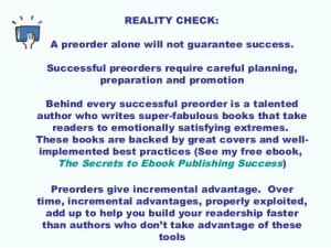 preorder reality check