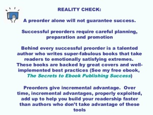 preorder reality check