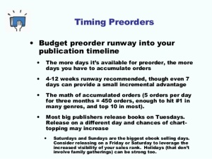 preorder timing