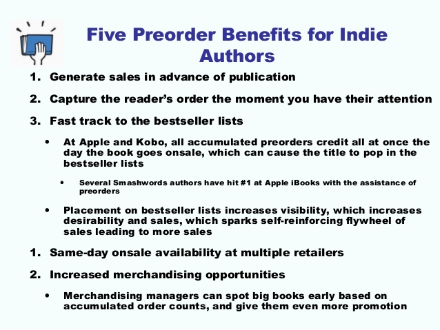 Why My First Experience with Using #Pre-Orders Will Help Get My NEXT #Ebook Higher on #Best-Seller Lists  (3/6)