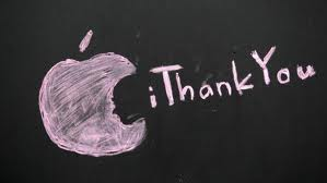 Thanks to Steve Jobs