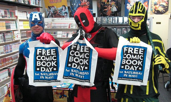 As awesome as my local comic book stores are, I wish I'd been somewhere this might have happened!!
