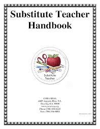 Substitute handbook