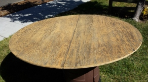 table top finished