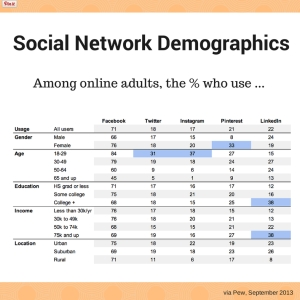 Social-Network-Demographics 2014