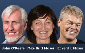 Edvard Moser, May Britt Moser, John O'Keefe