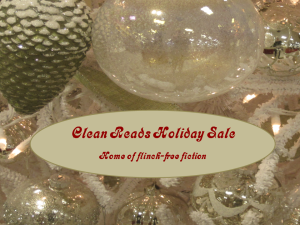 Clean Reads Holiday Sale