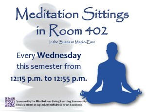 meditation at college
