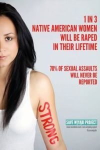 Native American rape stats