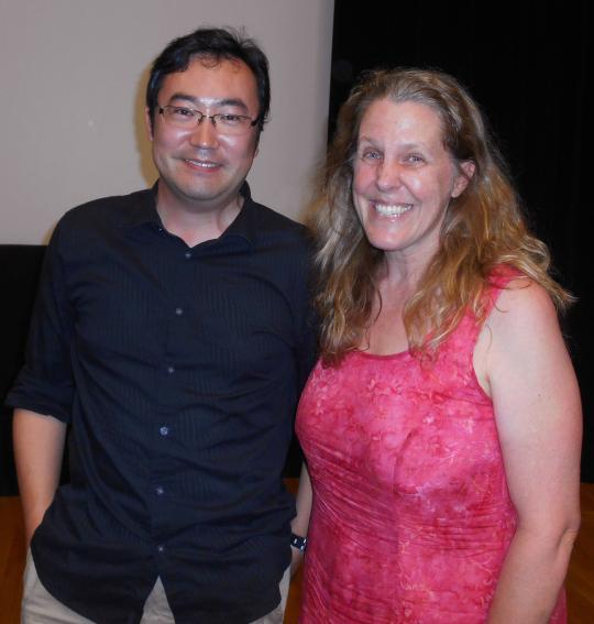 Yasunori Nomura with Cynthia Sue Larson
