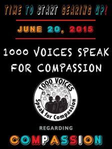 1000 Speak for Compassion 6-20-15