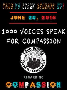 1000 Speak for Compassion 6-20-15