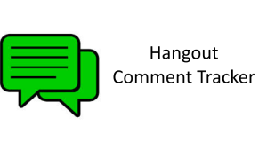 Hangout-Comment-Tracker