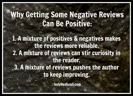 Negative reviews can be helpful