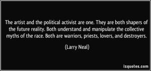 artist as activist