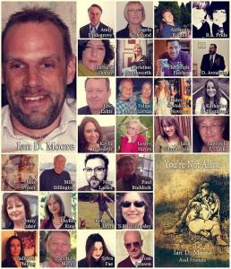 IARE collage authors photos and names