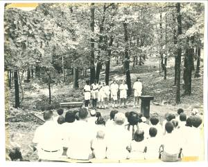 Shabbat at Camp Hawthorn 1950s
