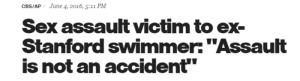 assault is not an accident