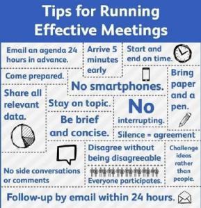 running effective mtgs