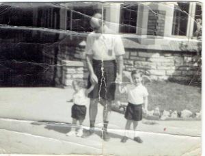 Sally Dad Jon 1955
