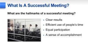 success signs of mtg