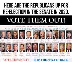 Senators up in 2020 GOP