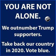 vote blue 2020
